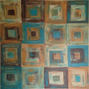 abstract pattern painting