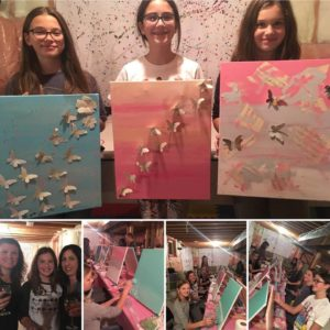 birthday party, paint party