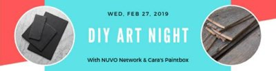 diy art night promo