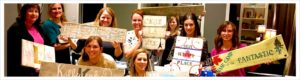 Paint nights, paint with friends. paint and wine night